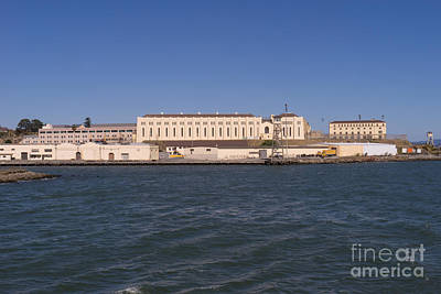 San Quentin Prison In Marin County California Dsc1673 Print by Wingsdomain Art and Photography