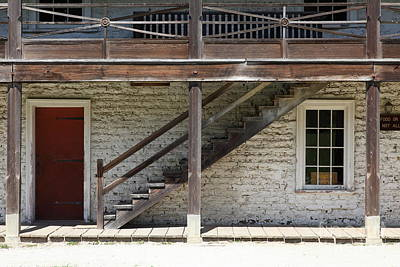 Sanchez Adobe Pacifica California 5d22656 Print by Wingsdomain Art and Photography