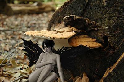 Fairy Mixed Media - Sanctuary by Mark Zelmer