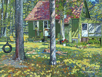 Cocker Spaniel Painting - Sanctuary by William Bukowski