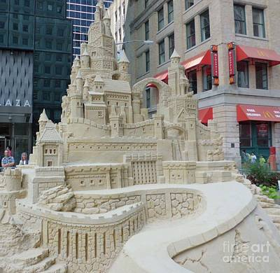 Sand Castle Print by James Dolan