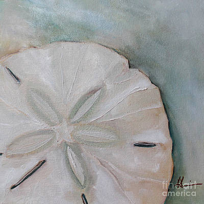 Kristine Painting - Sand Dollar by Kristine Kainer