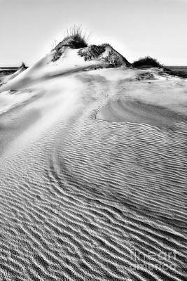 Sand Dune Textures - Outer Banks II Print by Dan Carmichael