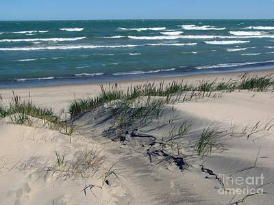 Sand Ripples 2 Print by Cedric Hampton