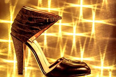 Sandals Print by Jijo George