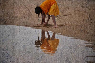 Sandcastles In The Sun Print by Trish Tritz