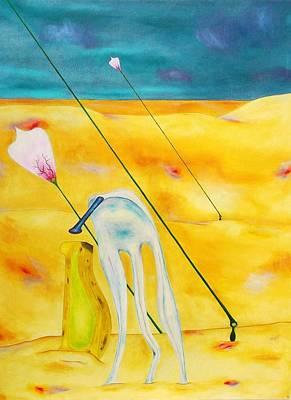 Interesting Painting - Sandhillyhot by James Z Jilbert