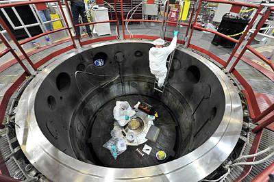 Sandia Z-machine Pulsed Power Generator Print by Sandia National Laboratories