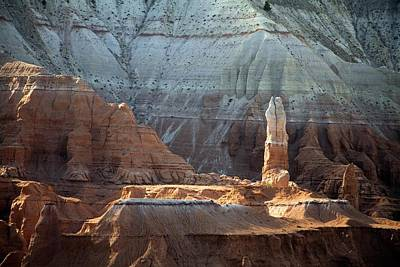 Sandstone Rocks And Spire Print by Jim West