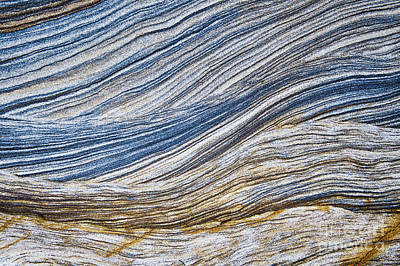 Sandstone Strata Print by Tim Gainey