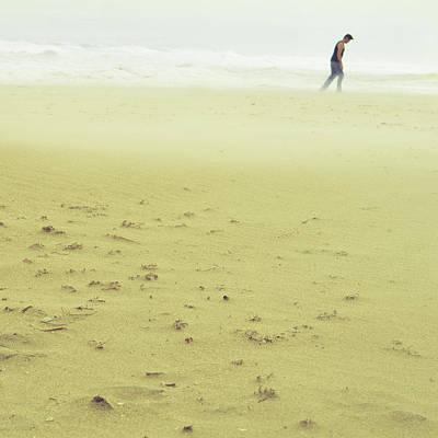 Sandstorm Minimalist Print by Laura Fasulo