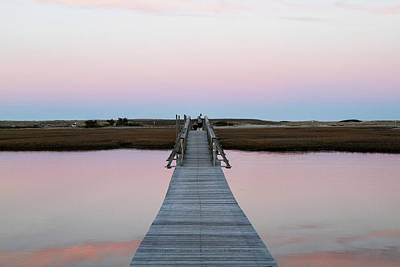 Cape Cod Photograph - Sandwich Boardwalk, Cape Cod by Susan Pease