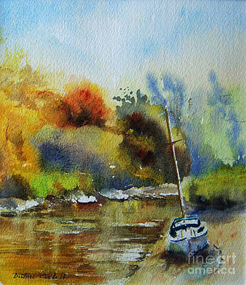 Sandwich Painting - Sandwich Kent The Stour by Beatrice Cloake