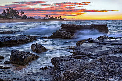 Seascape Photograph - Sandy Beach Oahu by Marcia Colelli