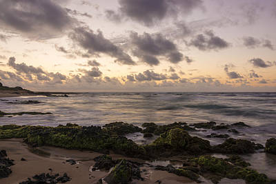 Nature Photograph - Sandy Beach Sunrise 10 - Oahu Hawaii by Brian Harig