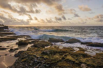 Coastal Photograph - Sandy Beach Sunrise 2 - Oahu Hawaii by Brian Harig