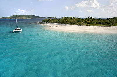 Tropical Photograph - Sandy Cay Bvi by Bryan Allen