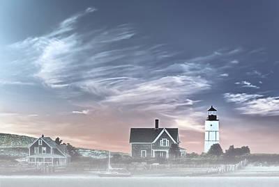 Sandy Neck Lighthouse Print by Susan Candelario