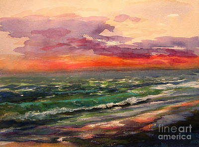 Painting - Sanibel Sunset by Julianne Felton
