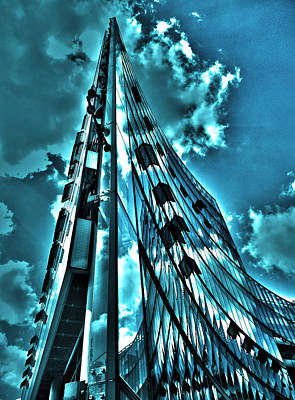 Fenster Photograph - Sanofi Aventis - Berlin by Juergen Weiss
