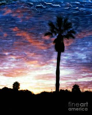 Santa Barbara Sunrise Print by Glenn McNary