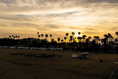 Photograph - Santa Barbara Sunset by Tony Boyajian
