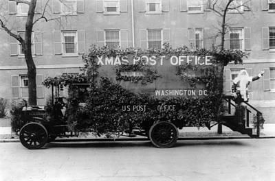 Us Postal Service Photograph - Santa Claus, 1921 by Granger
