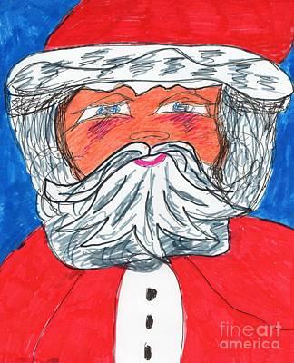 Santa Claus Original by Elinor Rakowski