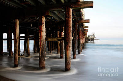 Santa Cruz Pier Photograph - Santa Cruz Pier California by Bob Christopher