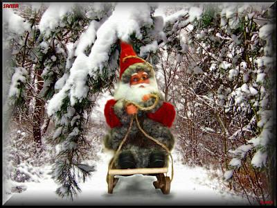 Santa Original by Daniel Janda