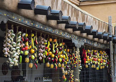 Dilli Photograph - Santa Fe Pepper Strings by Dave Dilli
