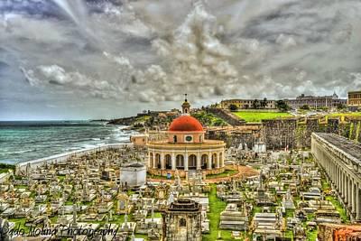 El Morro Photograph - Santa Maria Madgalena by Dado Molina