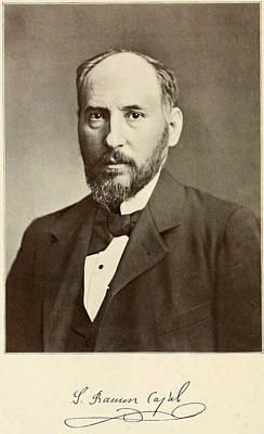 Cajal Photograph - Santiago Ram�n Y Cajal. Spanish by Everett
