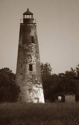 Sapelo Island Lighthouse Print by Skip Willits
