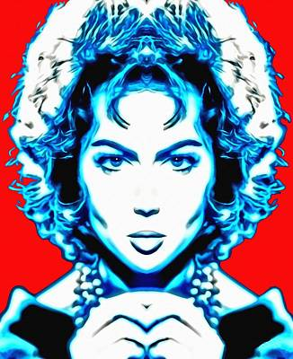 Universal Art Mixed Media - Sara Montiel Alias In Carmen La De Ronda by Art Cinema Gallery