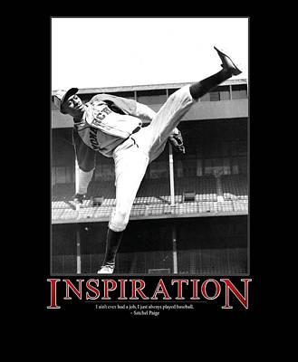 Satchel Paige Photograph - Satchel Paige Inspiration by Retro Images Archive