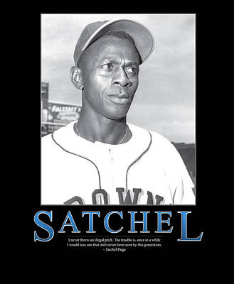 Old Pitcher Photograph - Satchel Paige by Retro Images Archive