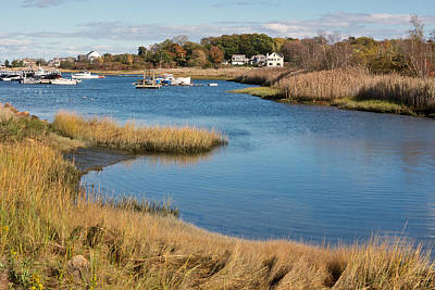 Photograph - Satuit Brook Scituate Mass by Gail Maloney