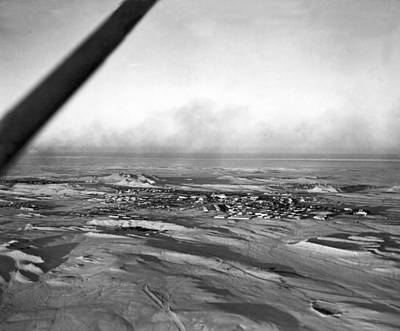 Arabia Photograph - Saudi Town For Americans by Underwood Archives