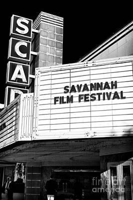 Savannah Film Festival Print by John Rizzuto