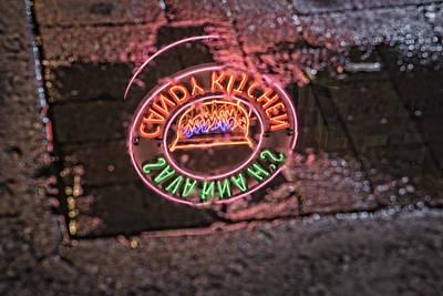 Nashville Sign Photograph - Savannah's Candy Kitchen by Rick Berk