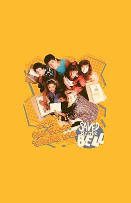 Kelly Slater Digital Art - Saved By The Bell - It's All Right by Brand A