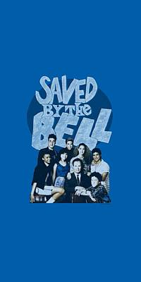 Kelly Slater Digital Art - Saved By The Bell - Retro Cast by Brand A