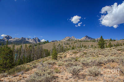 Stupendous Photograph - Sawtooth View by Robert Bales