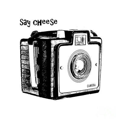 Say Cheese Print by Edward Fielding