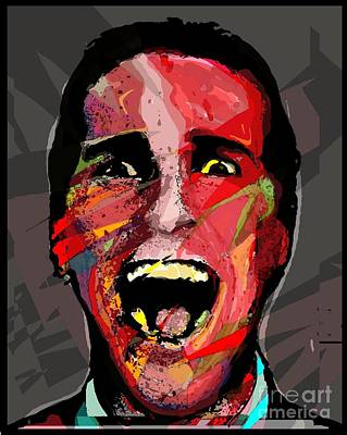 Christian Bale Digital Art - Say Hello To My Ego. by Brett Sixtysix