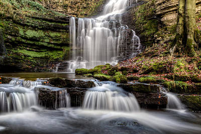 Knaresborough Photograph - Scaleber Force by Chris Frost