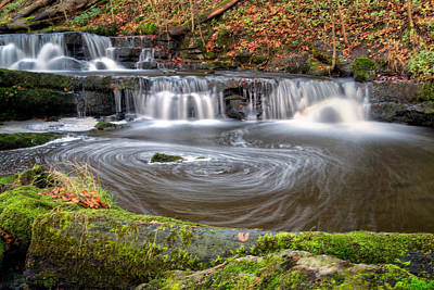 Knaresborough Photograph - Scaleber Force Eddy by Chris Frost