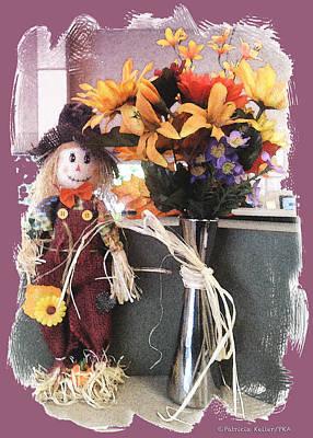 Scarecrow And Company Original by Patricia Keller