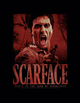Montana Digital Art - Scarface - Opportunity by Brand A